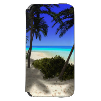 The island iPhone 6/6s wallet case