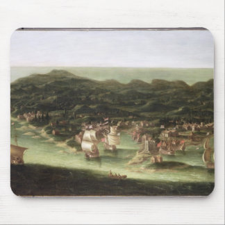 The Island of Barbados, c.1694 (oil on canvas) Mouse Pad