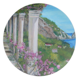 The Island of Capri - Plates