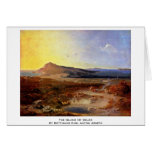 The Island Of Delos By Rottmann Carl Anton Joseph Greeting Cards