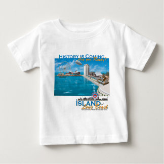 The Island of Long Beach Official Gear Baby T-Shirt