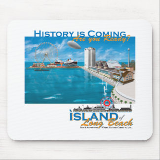 The Island of Long Beach Official Gear Mouse Pad