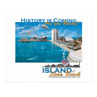 The Island of Long Beach Official Gear Postcard