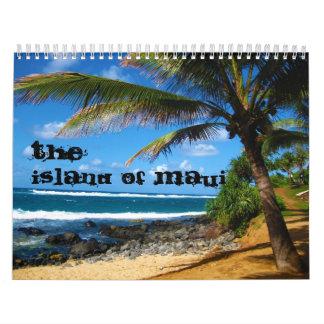 The Island of Maui 20 Month Calendar