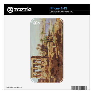 The Island of Philae, 1866 (w/c) Decal For iPhone 4