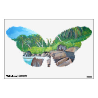 The island of the Seychelles Wall Sticker