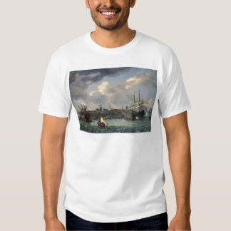 The Island Onrust Near Batavia T-Shirt