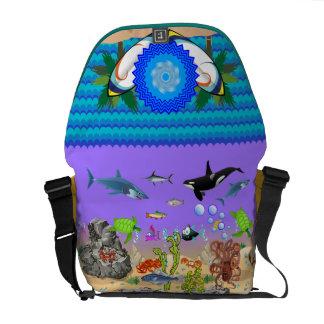 The Island Style Ocean Beach Bag Courier Bag