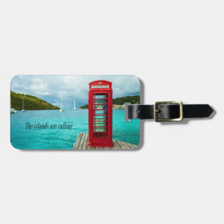 The Islands are Calling Luggage Tag