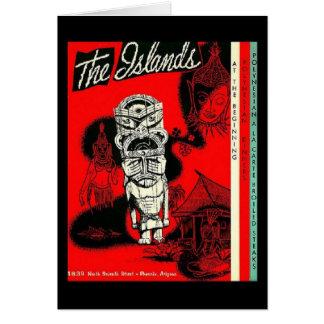 The Islands Tiki Lounge Card