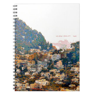 The Isle of Capri Notebook