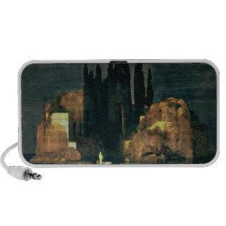 The Isle of the Dead, 1880 (oil on canvas) Mini Speaker