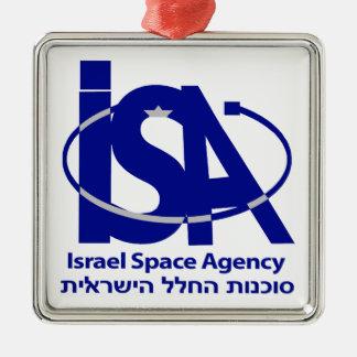The Israel Space Agency - סוכנות החלל הישראלית Christmas Ornaments