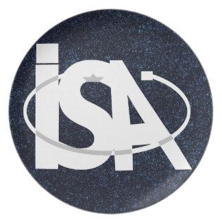 The Israel Space Agency - סוכנות החלל הישראלית Plate