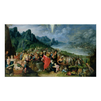 The Israelites on the Bank of the Red Sea, 1621 Poster