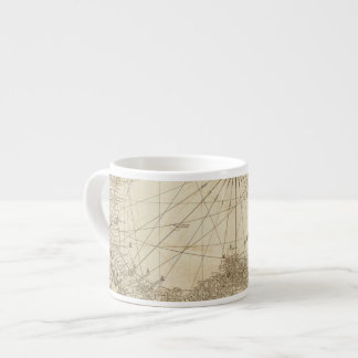 The Isthmus of Panama 6 Oz Ceramic Espresso Cup