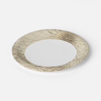 The Isthmus of Panama 7 Inch Paper Plate