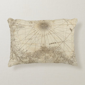 The Isthmus of Panama Accent Pillow