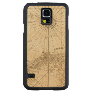 The Isthmus of Panama Carved® Maple Galaxy S5 Slim Case