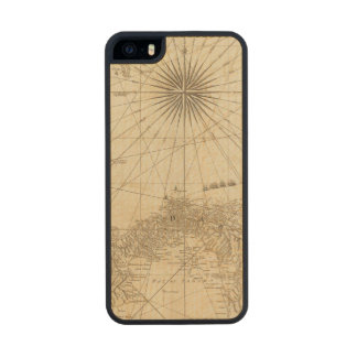 The Isthmus of Panama Carved® Maple iPhone 5 Slim Case