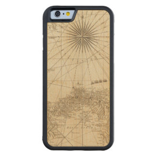 The Isthmus of Panama Carved® Maple iPhone 6 Bumper