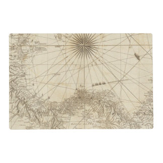 The Isthmus of Panama Placemat