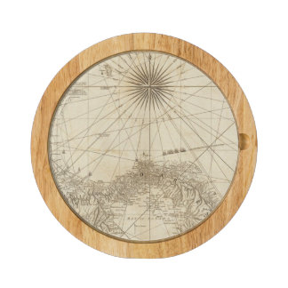 The Isthmus of Panama Round Cheeseboard