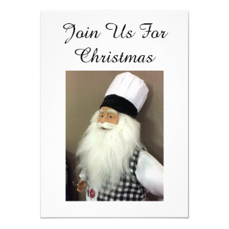 THE ITALAIN CHEF=JOIN US FOR CHRISTMAS INVITATION