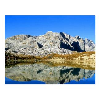 The Italian Alps 4 Postcard