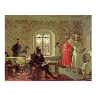The Italian Ambassador Calvuci Postcard