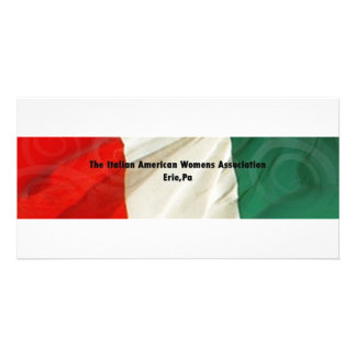 The Italian American Women's Association Card