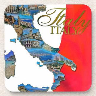 "The Italian ""Boot"" Beverage Coaster"