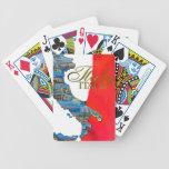 """The Italian """"Boot"""" Bicycle Card Deck"""
