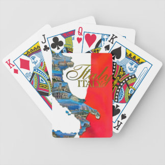 """The Italian """"Boot"""" Bicycle Playing Cards"""