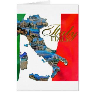 "The Italian ""Boot"" Card"