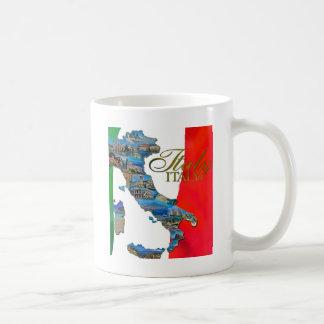 """The Italian """"Boot"""" Coffee Mug"""