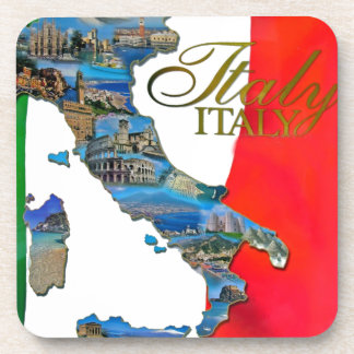 "The Italian ""Boot"" Drink Coaster"