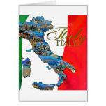 "The Italian ""Boot"" Greeting Card"