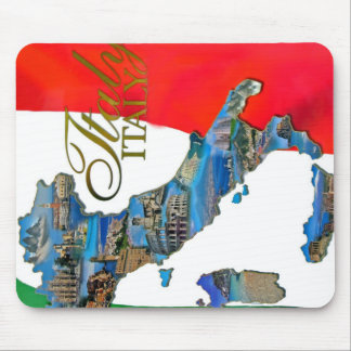 "The Italian ""Boot"" Mouse Pad"