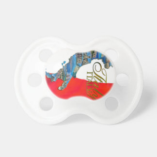 """The Italian """"Boot"""" Pacifier"""