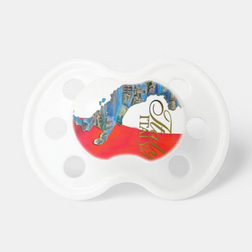 """The Italian """"Boot"""" Baby Pacifier"""