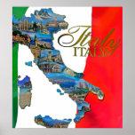 "The Italian ""Boot"" Print"