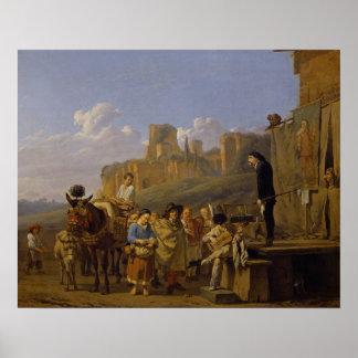 The Italian Charlatans, 1657 Poster