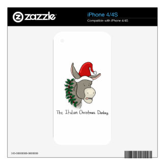 The Italian Christmas Donkey Skin For The iPhone 4S