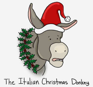 the italian christmas donkey t shirt - The Italian Christmas Donkey