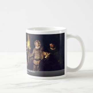 The Italian Comedy (L'Amour Au Théâtre Italien) Classic White Coffee Mug