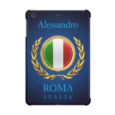 The Italian Flag - La bandiera d'Italia iPad Mini Retina Cover