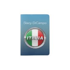 The Italian Flag - La Bandiera d'Italia Passport Holder