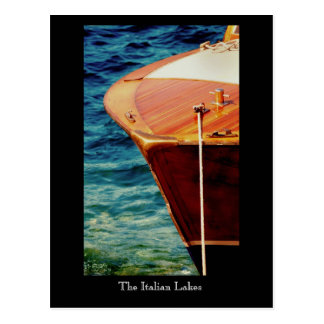 The Italian Lakes, Lake Maggiore. Postcard