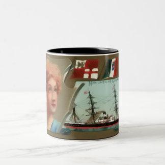 The Italian Line Two-Tone Coffee Mug